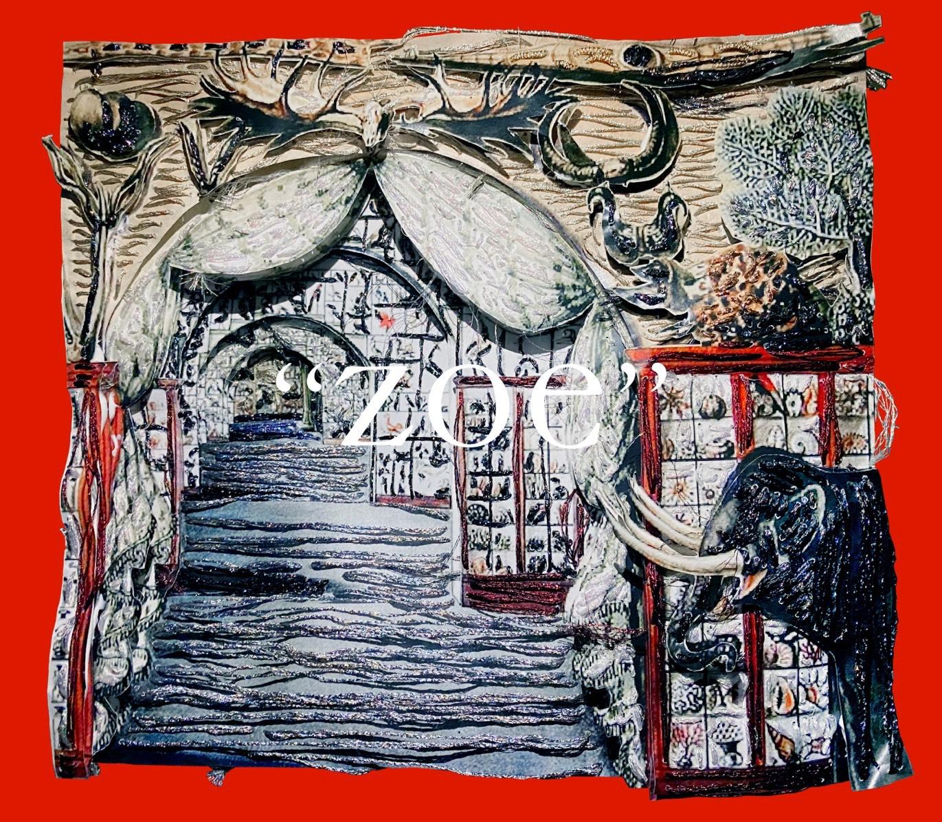 青木美紅 個展「zoe」(ゲンロン カオス*ラウンジ 新芸術校 第4期最優秀者デビュー展示)