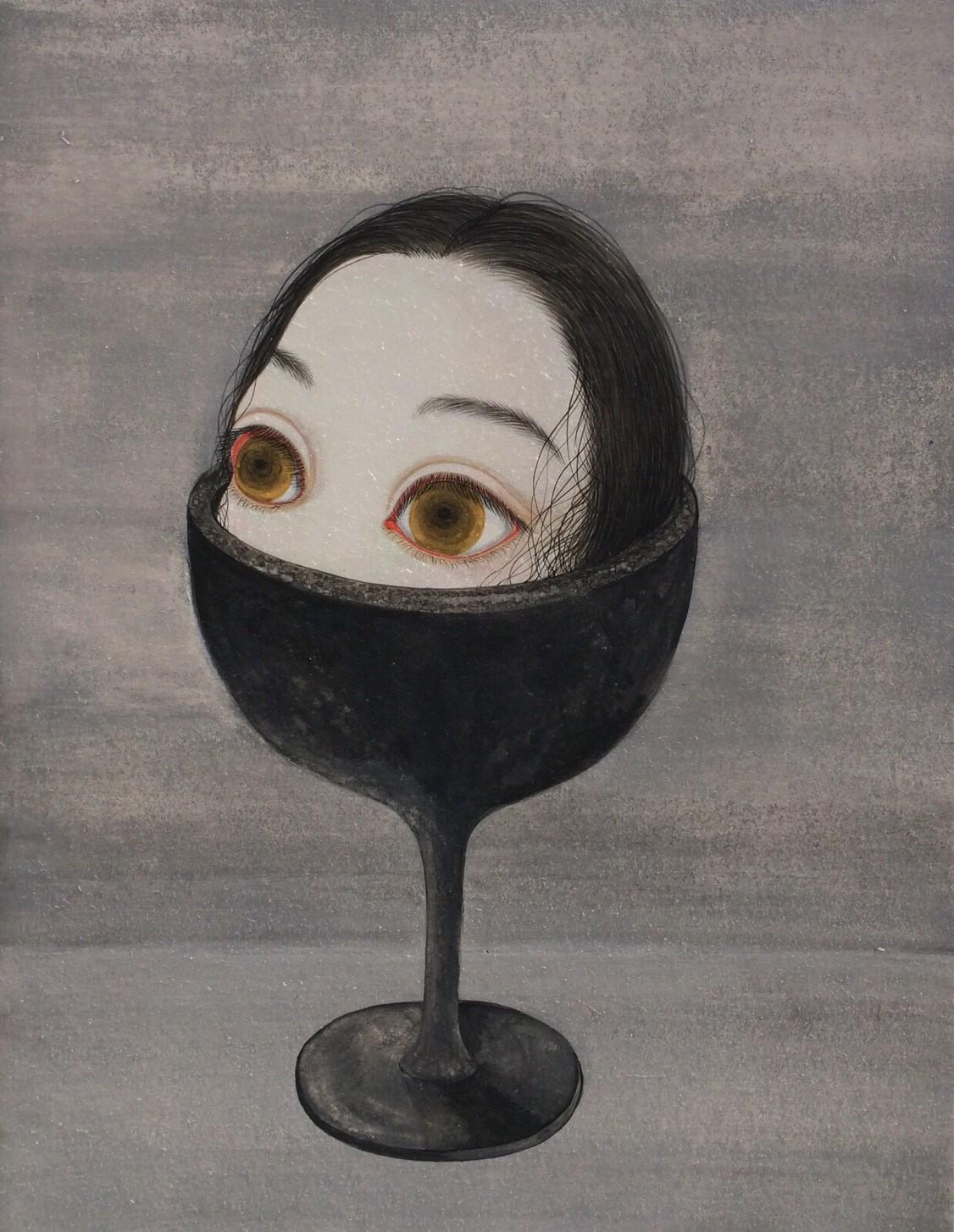 三毛あんり 個展『肖像画展』
